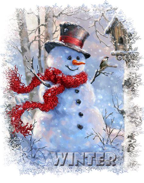 Imágenes de Navidad   Muñecos de Nieve   Gifs Animados ...
