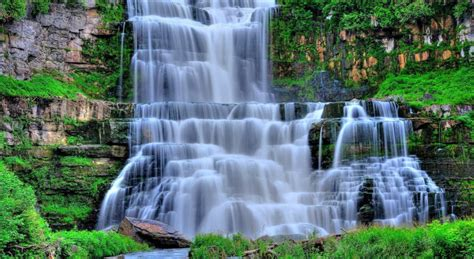 imagenes de paisajes con cascadas