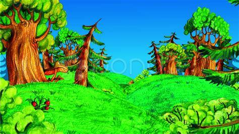 Imágenes de un bosque animado - Imagui