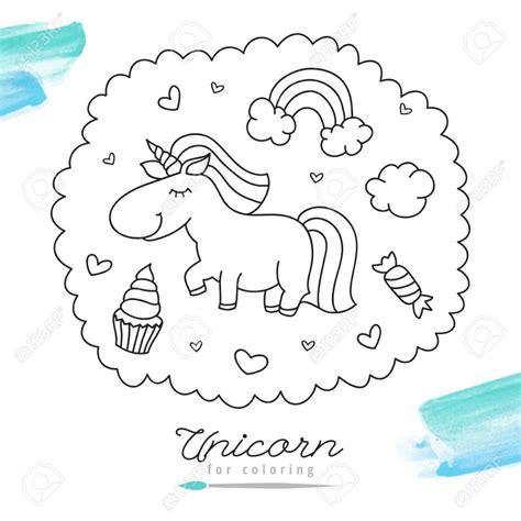 Imagenes De Unicornios Para Colorear Finest Dibujo De ...