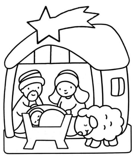imagenes del nacimiento de jesus para colorear Archivos ...