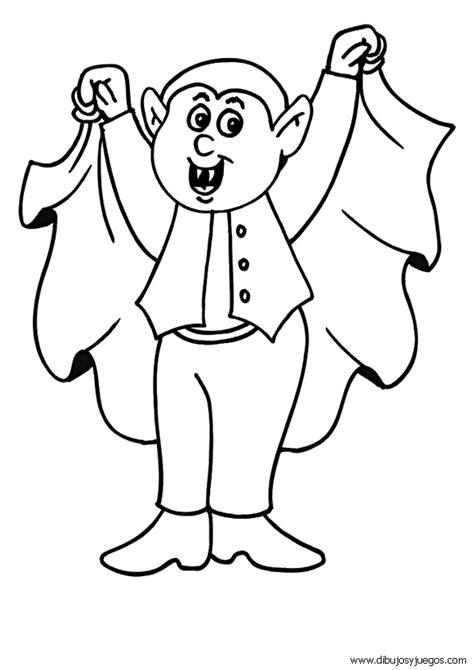 Imagenes Halloween Para Colorear Vampiros