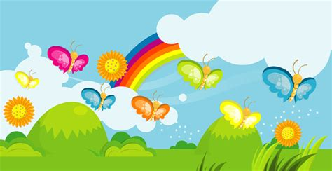 Imágenes infantiles de mariposas y flores - Imagui