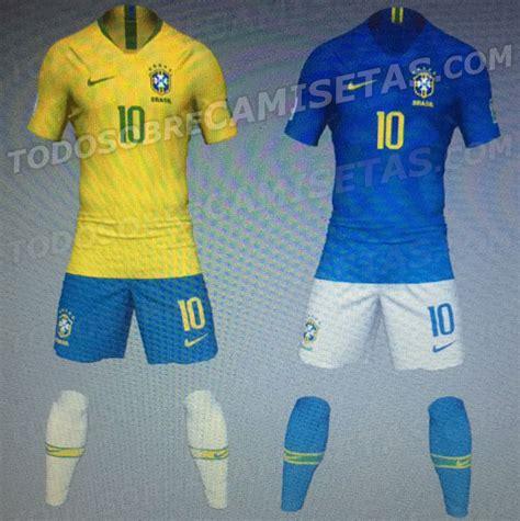 IMÁGENES  Las camisetas de Brasil, Francia, Inglaterra y ...