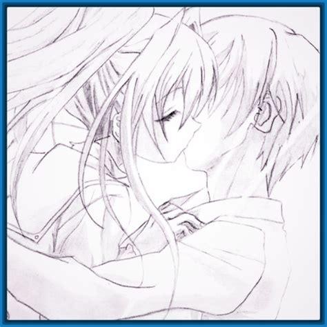imagenes para dibujar de amor anime faciles Archivos ...
