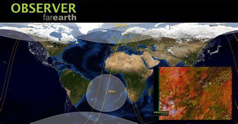 Imágenes satélite en tiempo real con Observer Far Earth ...