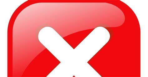 Imagenes Sin Copyright: Botón rojo de cancelar con un aspa ...