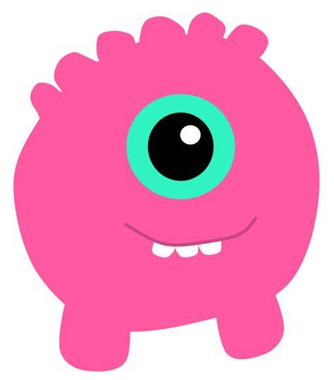 Imagenes Sin Copyright: Monstruo cíclope rosa
