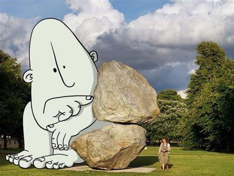 Imágenes son invadidas por curiosos dibujos animados ...