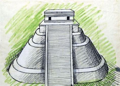 Imagenes y dibujos de piramides mayas de sol aztecas ...