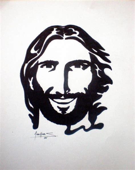 Imágenes y Dibujos del Rostro de Jesucristo en Blanco y Negro
