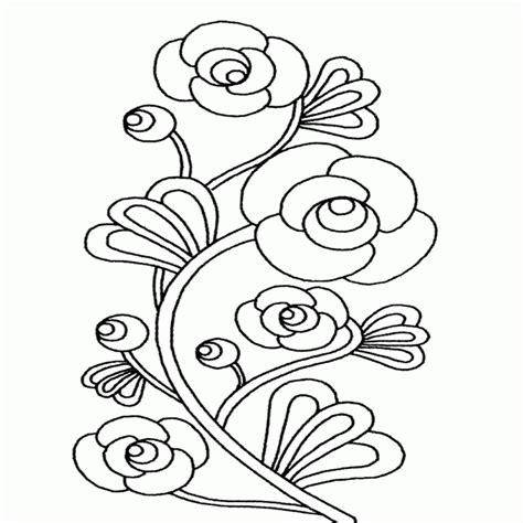 Imagenes Y Fotos Dibujos De Flores Para Colorear Parte 2 ...