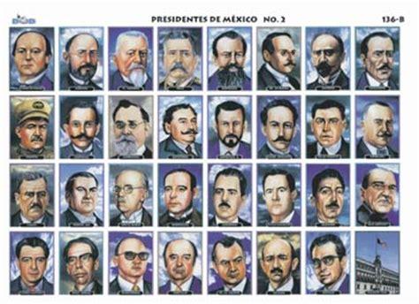 Imagenes Y Nombres De Todos Los Presidentes De Mexico ...