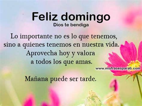 Imagens, frases e mensagens de feliz domingo em espanhol ...
