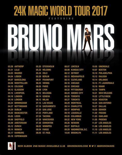 Images: Bruno Mars 24k Magic