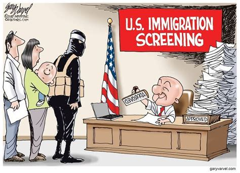 Immigration Political Cartoons | www.pixshark.com - Images ...