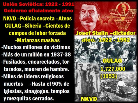 Imperio global de ateos. Unión Soviética de Estados ...