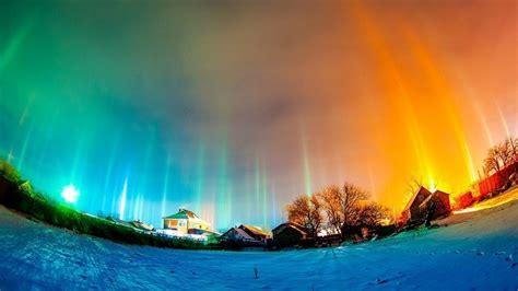 Impresionantes fenómenos naturales dan la bienvenida al ...