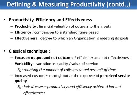 Improving Service Quality and Productivity   Service Marketing