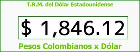 Impuestos   Trm dian viernes   TRM Dólar Colombia, Viernes ...