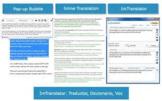 ImTranslator: Traductor, Diccionario, Voz - Chrome Web Store