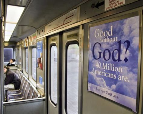 In subway ads, atheist group reaches out to Hub's ...