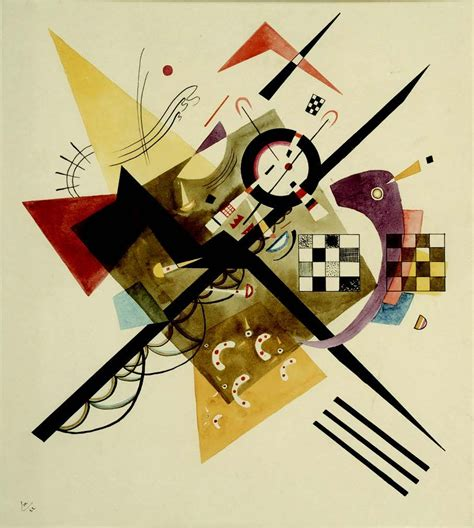 In white II by Wassily Kandinsky: History, Analysis & Facts