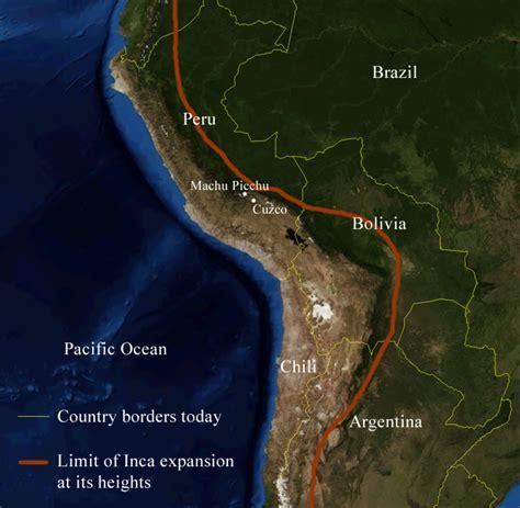 Incas around 1500 – Societies and Territories