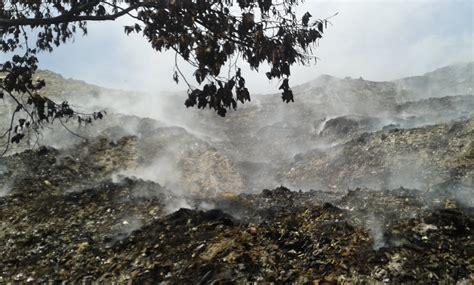Incendio en basurero de Papantla lleva un mes; liquidos ...