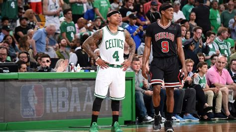 INCREDIBLE Rajon Rondo full court assist to Jimmy Butler ...