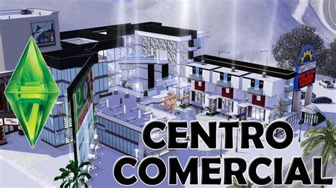 Increíble Centro comercial en los Sims 3  Sims 3 shopping ...