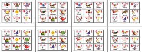 Increible lotería bingo de abecedario para primer y ...