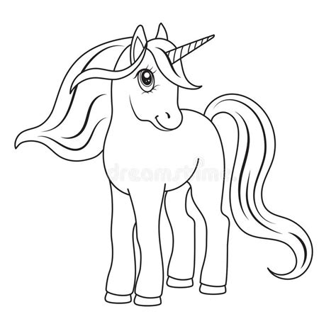 Increíble Unicornios Bebé Para Colorear Composición ...