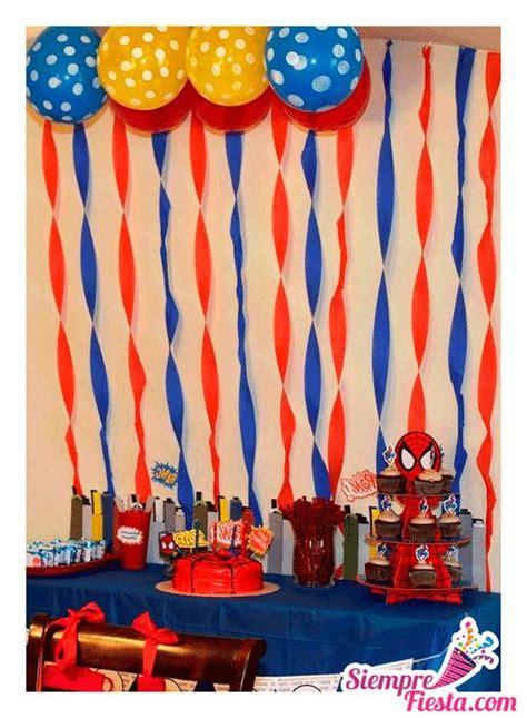 Increíbles ideas una fiesta de cumpleaños de Spiderman (el ...