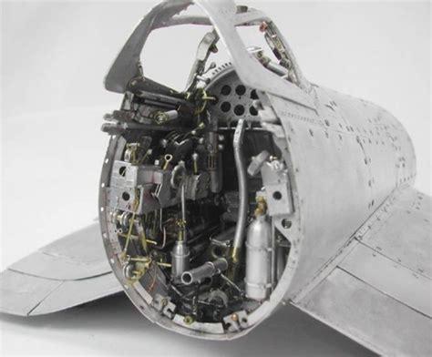 Increíbles maquetas de aviones de la Segunda Guerra ...