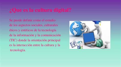 Incursión en la cultura digital