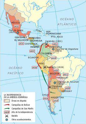 Independencia de América Latina   MAPAS HISTÓRICOS S ...