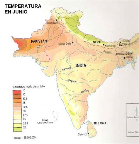 India - Mapa De La Densidad