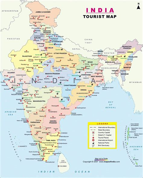 India Maps | Printable Maps of India for Download