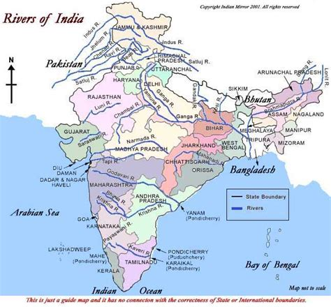 INDIAN MIRROR - GEOGRAPHY - Indian Rivers