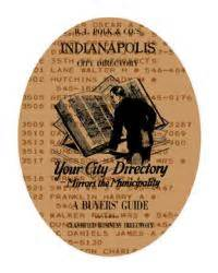 Indianapolis City Directory Collection | University Library
