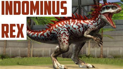 INDOMINUS REX   LEVEL 40   HYBRID DINO   Jurassic World ...