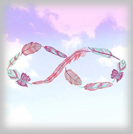 infinito ocn plumas | tattoo | Pinterest