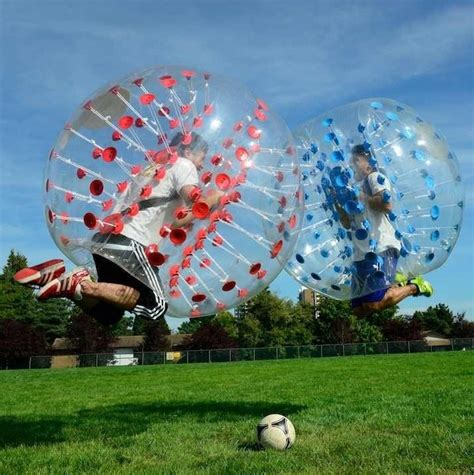 Inflatable Zone Bubble Soccer Bubbles
