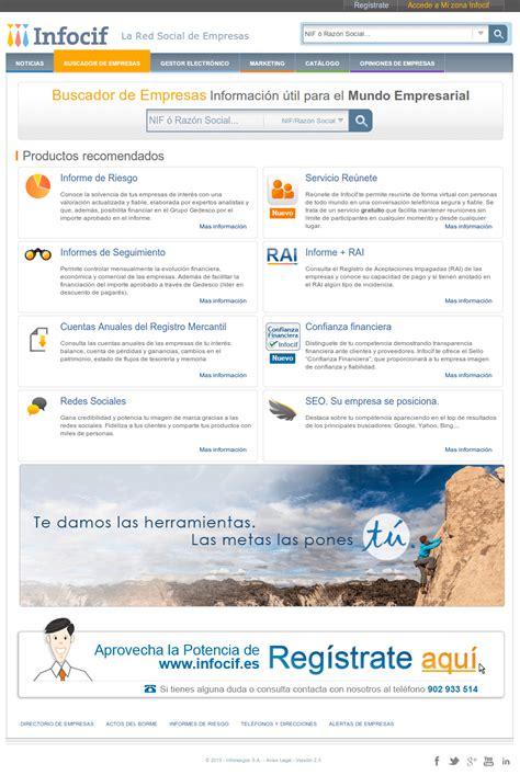 Infocif, una red social española para empresas