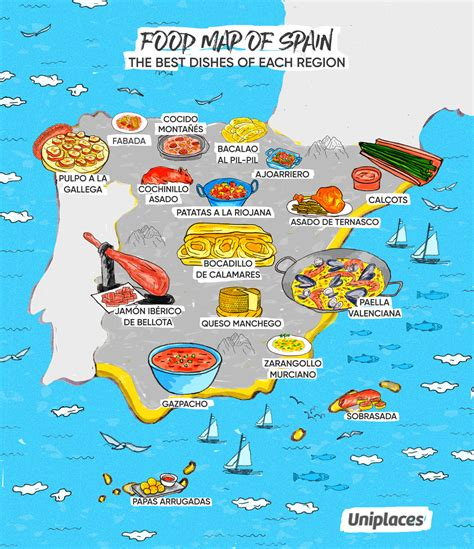 Infographic: Regional Food Maps of Europe | Eat Your World ...