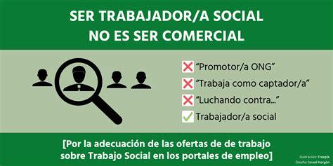 Infojobs, tus ofertas de empleo de Trabajo Social no son ...