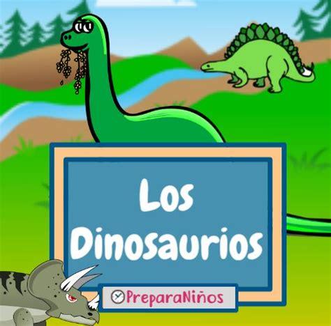 Información Acerca de los Dinosaurios Para Niños: Resumen ...