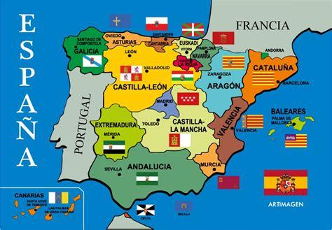 Información e Imágenes con Mapas de España Político y Físico