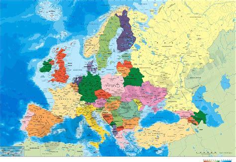 Información e imágenes con Mapas de Europa Fisico ...
